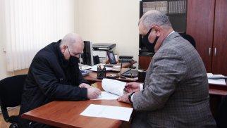 Azərbaycan Xalq Partiyası ofislə təmin edilib - FOTO