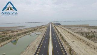 Qala-Pirallahı avtomobil yolunda yerüstü piyada keçidi inşa edilib
