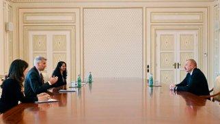 İlham Əliyev Dünya Bankının regional direktorunu qəbul etdi
