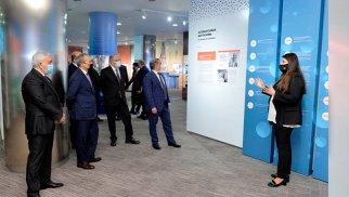 SOCAR-da Vizualizasiya Mərkəzi açıldı - FOTO