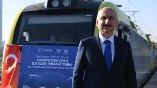 Türk nazir: Bakı-Tbilisi-Qars dəmir yolu ilə daşınmalar 2 dəfəyədək artıb