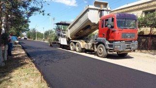 Qazaxda yeni çəkilən yol çöküb – FOTO
