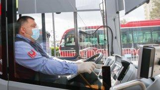 Ötən il Bakıda avtobus sürücülərinin 4,6 faizi koronavirusa yoluxub