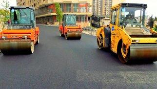 Xətai rayonunda 2 əsas küçədə təmir işləri davam edir - FOTO