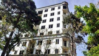 Alimpaşa Məmmədovun satdığı park ərazisində tikilən binalar - FOTOLAR
