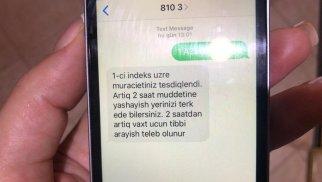 COVİD-19 xəstələrinə SMS niyə gec göndərilir? - Rəsmi cavab