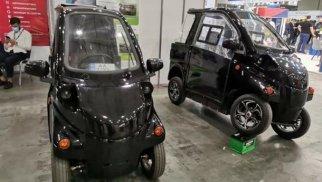Ukraynada iki yeni elektromobil təqdim edilib