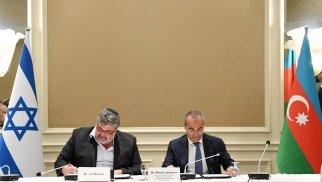 Azərbaycan və İsrail şirkətiləri arasında memorandum imzalandı