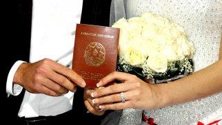 Azərbaycanda nikahların sayında artım var