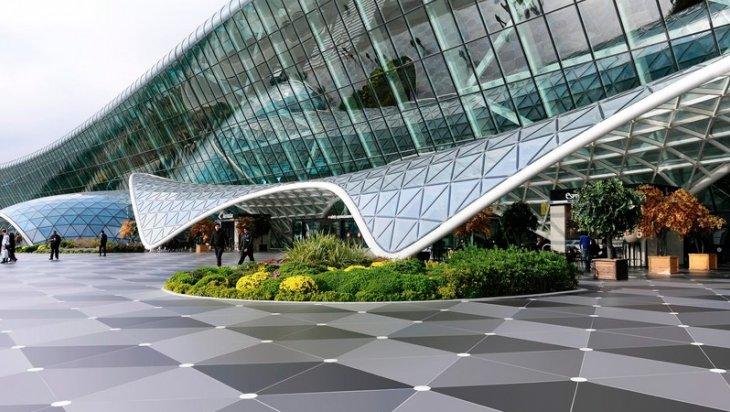 Heydər Əliyev Beynəlxalq Aeroportu ən yüksək reytinqə layiq görüldü