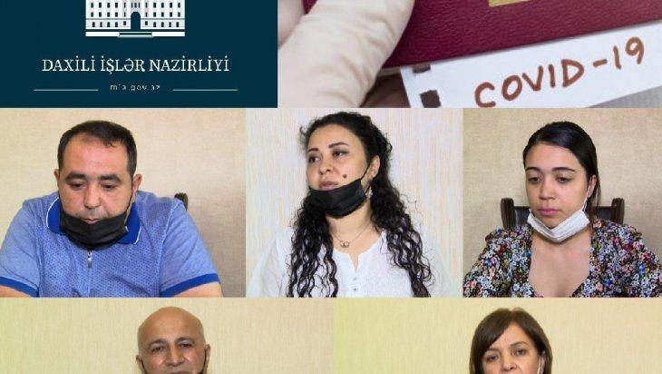 11 saylı poliklinikada saxta COVİD-19 pasportu satılıb (Baş Prokurorluq/DİN)
